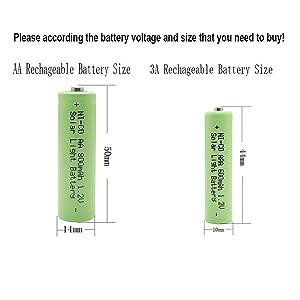 1.2v aa solar battery