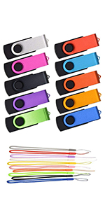 flash drives 32gb 10 pack