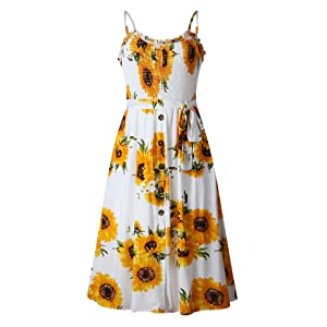 sun dresses for women casual