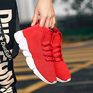 Comfort Lightweight Breathable Gym Workout Tennis Shoe for Men Training Hiking Baseball Jogging