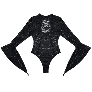 Made from soft, breathable and stretchy sheer lace, comfortable to touch and wear to give you