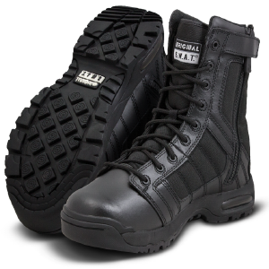 Metro 9 inch side zip boot