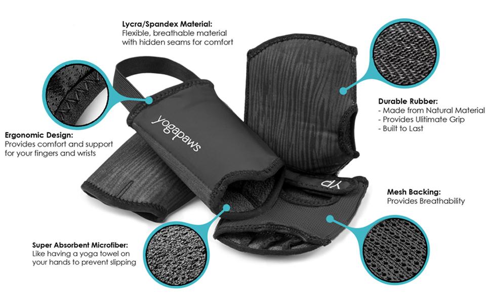 travel yoga mats yoga gloves