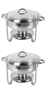 5qt 2pack chafing dishes