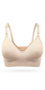 Wingslove 3Pack/1Pack Women's Seamless Nursing Bra Sleep Bralette for Maternity&Pregnant