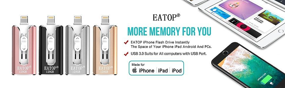 usb flash drive 128gb memory stick 128gb thumb drive 128gb ios flash drive iphone ipad memory stick