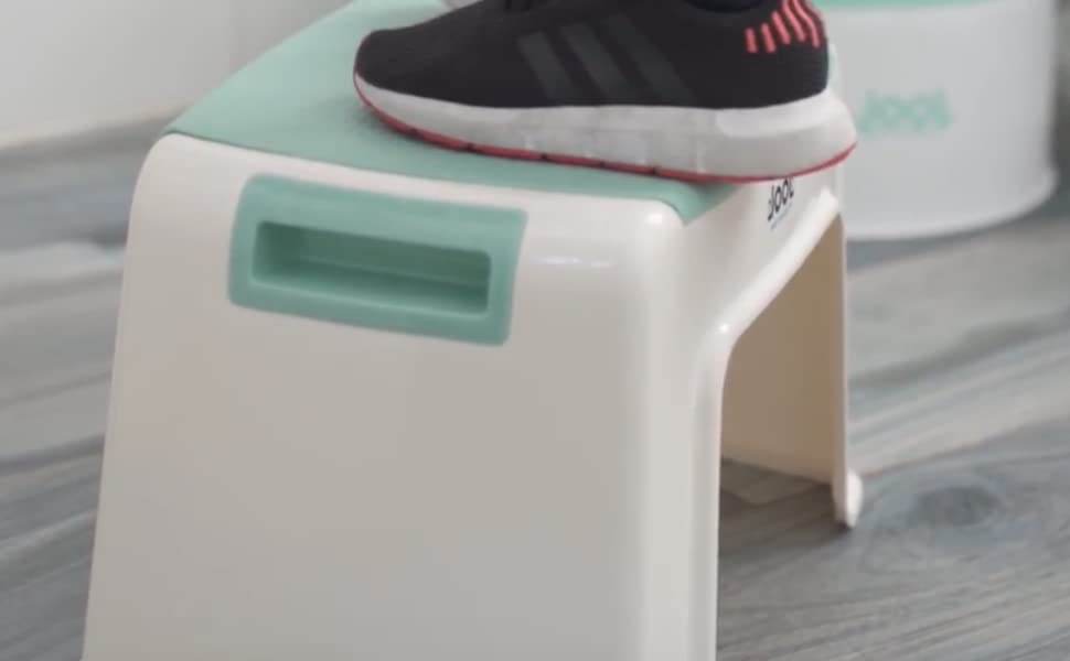 Child Step Stool for Boys & Girls, Toilet Training Stepstool with Anti-Slip Grips for Kids - Jool