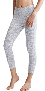 Oalka Women's Yoga Capris Running Pants Workout Leggings For Women Lady Girl Gym Pants