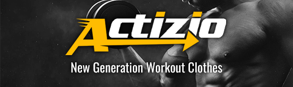 actizio new generation workout clothes logo, custom sweat activated shirts & tank tops manufacturer