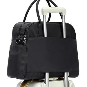luggage handle through trolley sleeve