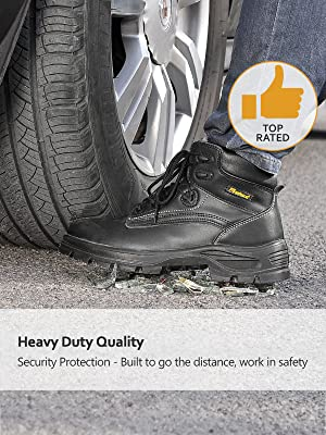 men work boots steel toe work shoes lightweight safety boots oil slip resistant safety shoes