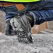 waterproof work boots oil slip resistant safety boots