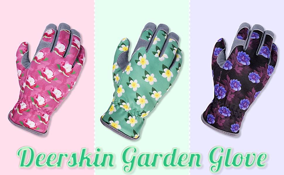 women deerskin glove