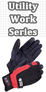 men work gloves
