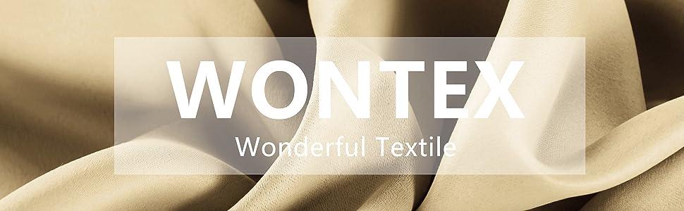 WONTEX blackout curtains