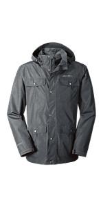 Eddie Bauer Men's Rainfoil Utility Jacket