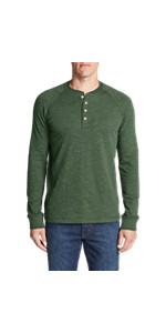 Eddie Bauer Men's Basin Long-Sleeve Henley Shirt