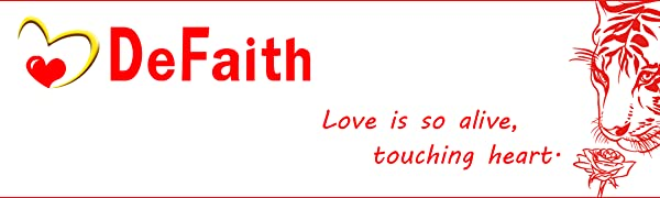 DeFaith - Love is so alive, touching heart.