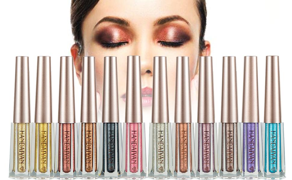 glitter liquid eyeshadow