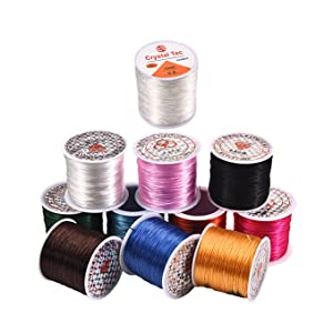 10 Color of 11 kinds strings:  Black,Coffee,Gold,Light Blue,Pink,Red,Royal,Green,Rosy,White.