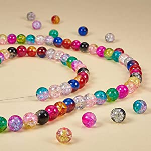 A string of bead necklace