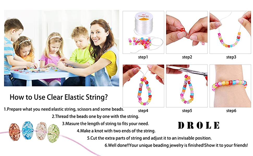 Methods to make bracelet