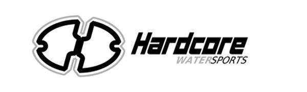 hardcore water sports logo