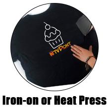 white heat transfer vinyl roll