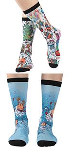 womens novelty dress socks
