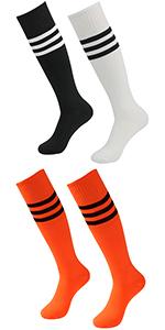 striped soccer socks