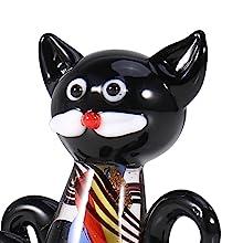 Cat Glass Sculpture