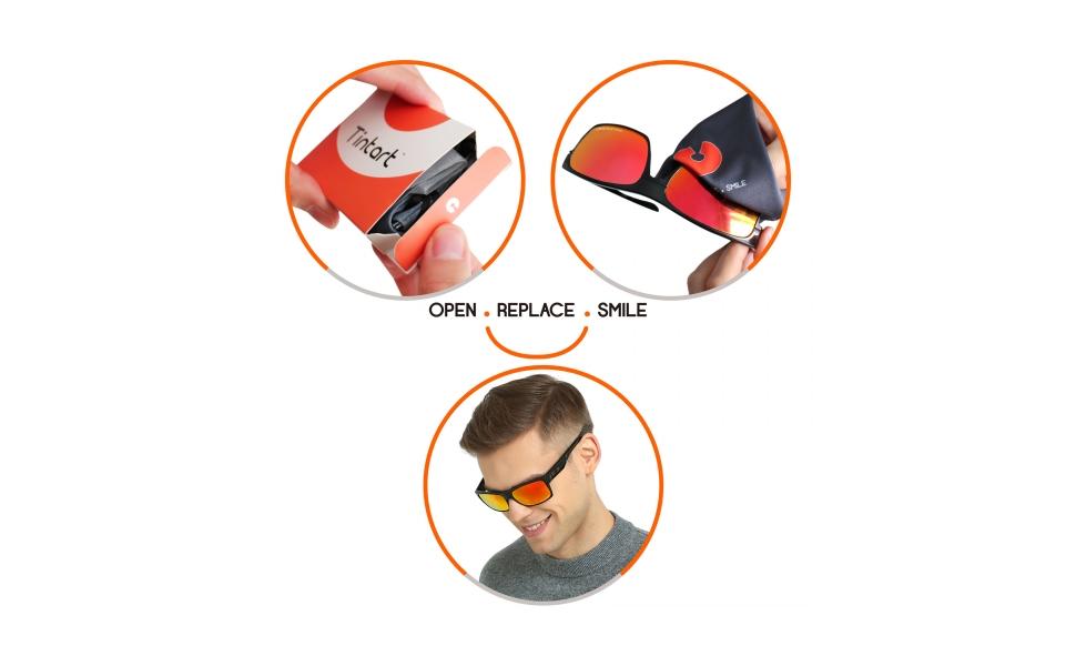 Tintart Optics - OPEN . REPLACE . SMILE