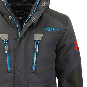 details brand Trollkids Norway flag