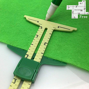 5in1 Handy Sliding Sewing Gauge Quilting Tools