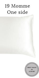 19  momme one side silk pillowcase