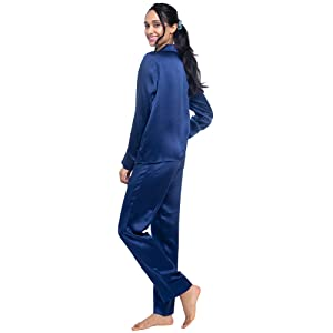 Silk Pajam For women