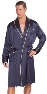 Men's classic robe