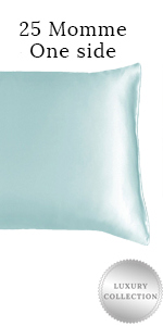 25 momme one side silk pillowcase