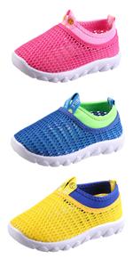 Toddler girl mesh water shoes garden shoe