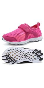 girl water swimming athletic shoes