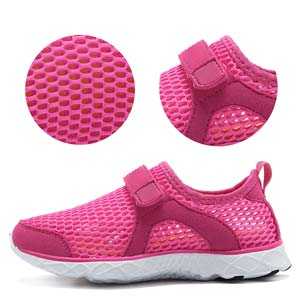 girl easy on water shoes