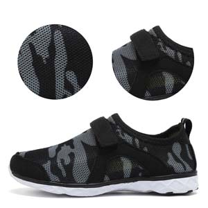 boy girl water shoes outdoor