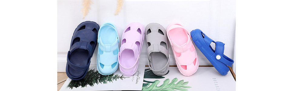 kid garden shoes play outdoor sandals shoes baby girl boys