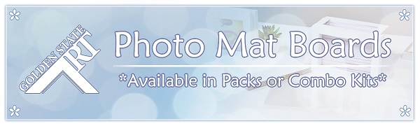 golden state art photo mat boards pack kits