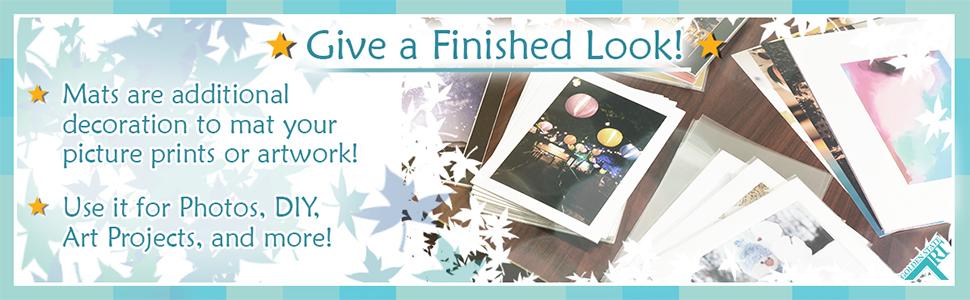 golden state art mat matting art diy project photo decor artwork prints