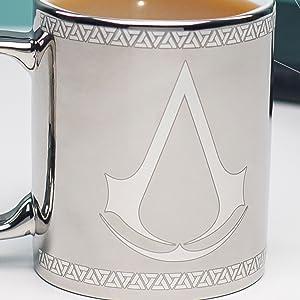 Paladone, Assasins Creed, AC, mug, coffee, tea, cup, gift