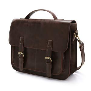 leather shoulder bag for men
