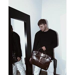 men's satchel bag