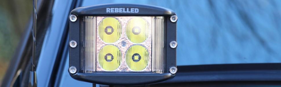 offroad suv jeep 4x4 led light cube