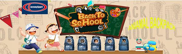 Animal backpack-Preschool bag for Children